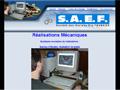 SAEF : constructions m�caniques - toiles de criblage acier